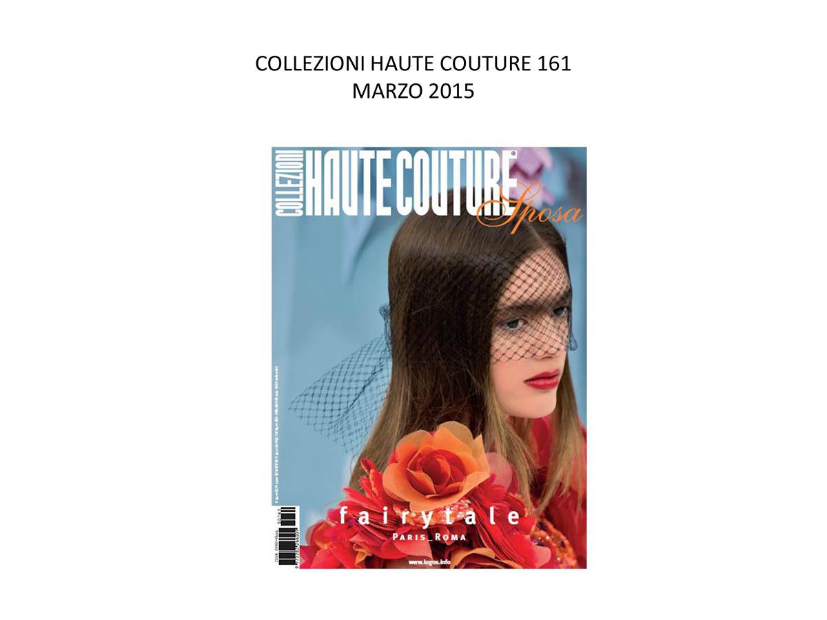 COLLEZIONI HAUTE COUTURE 161 MARZO 2015
