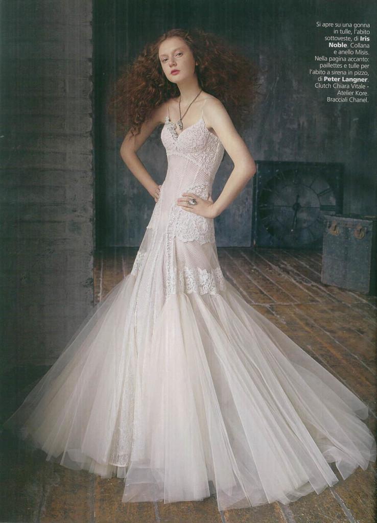 Iris Noble su Vogue Sposa - gennaio 2015-2